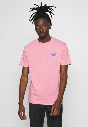 SANTA CRUZ UNISEX CRYSTAL HANDIN  - T-shirt print - rose pink