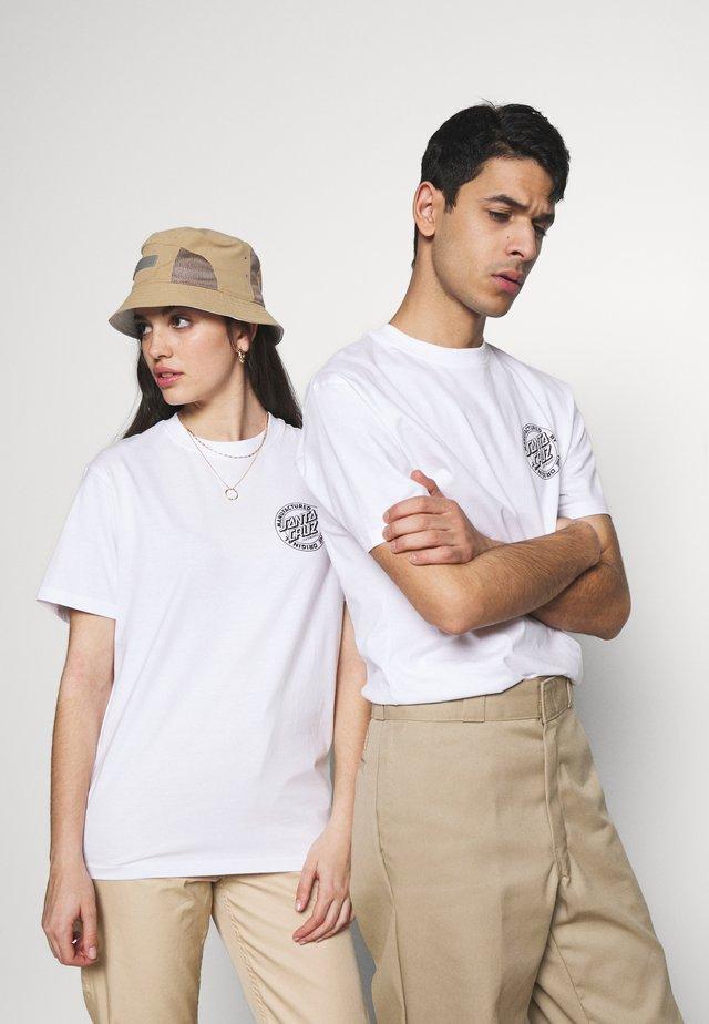 UNISEX ROAD RIDER - T-shirts print - white