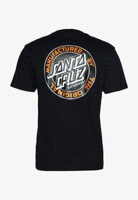 Santa Cruz - unisex dot - T-shirt con stampa - black - 1