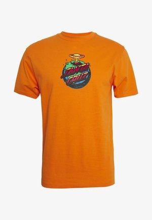 unisex Doom dot - Print T-shirt - orange