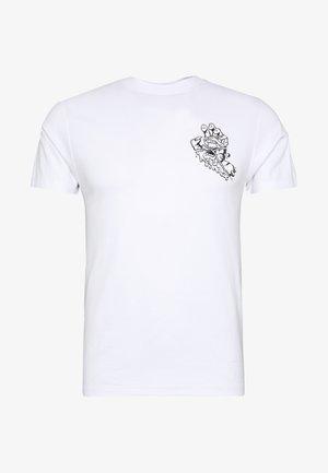 UNISEX UNIVERSAL HAND - T-shirt con stampa - white