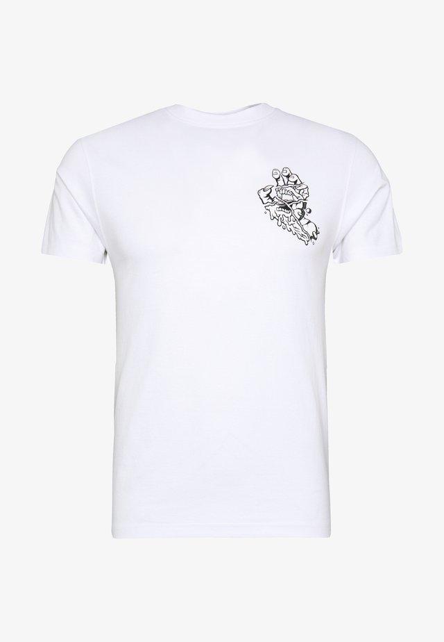UNISEX UNIVERSAL HAND - T-shirts med print - white