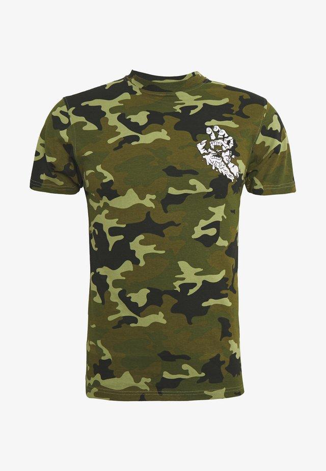 UNISEX UNIVERSAL HAND - T-shirts med print - woodland