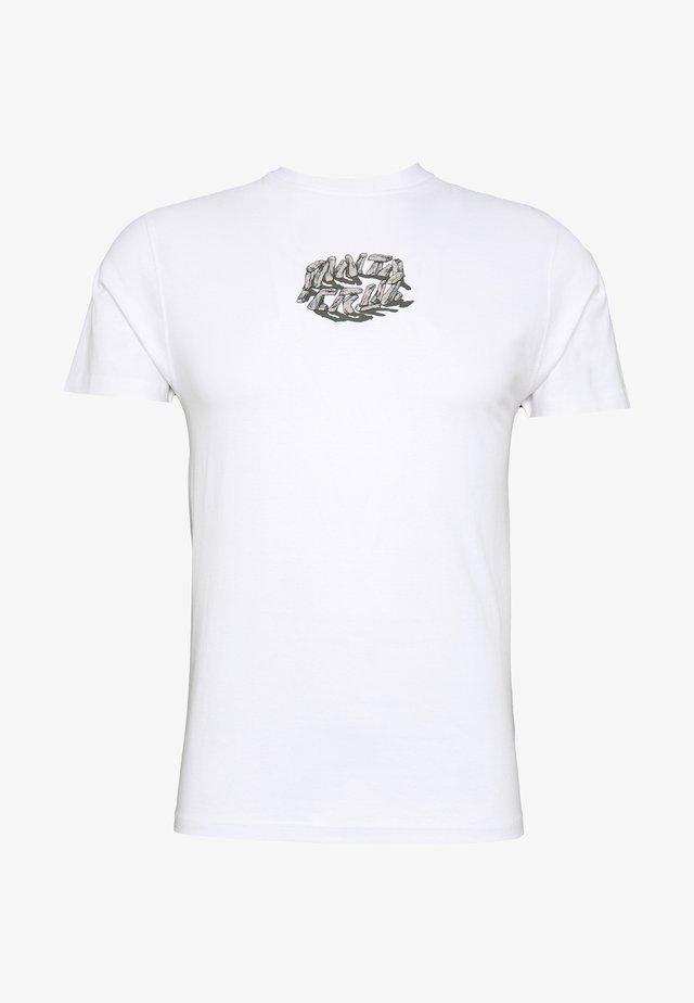 unisex Stoner circle - T-shirts med print - white