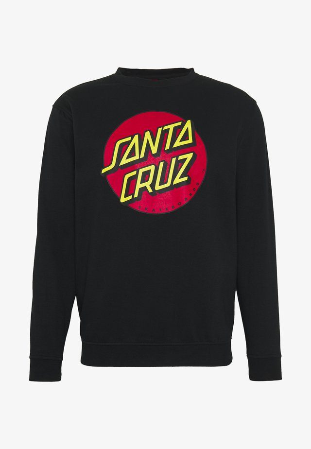 UNISEX CLASSIC DOT - Sweatshirt - black