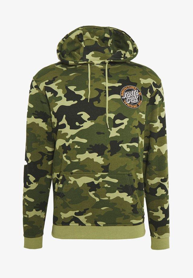 unisex dot hoodie - Mikina skapucí - woodland