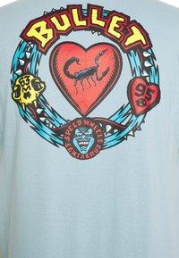Santa Cruz - unisex bullet poison - Print T-shirt - powder blue - 2