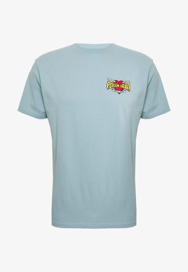 unisex bullet poison - T-shirts med print - powder blue