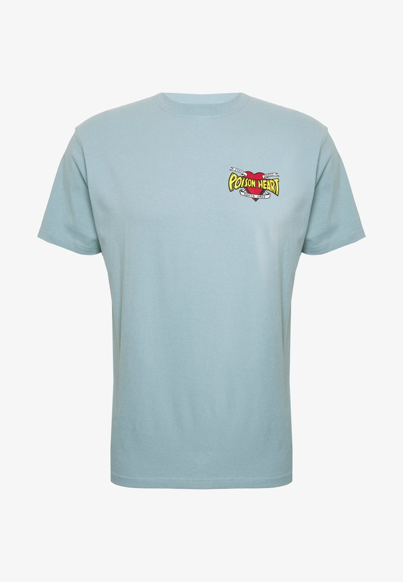 Santa Cruz - unisex bullet poison - Print T-shirt - powder blue