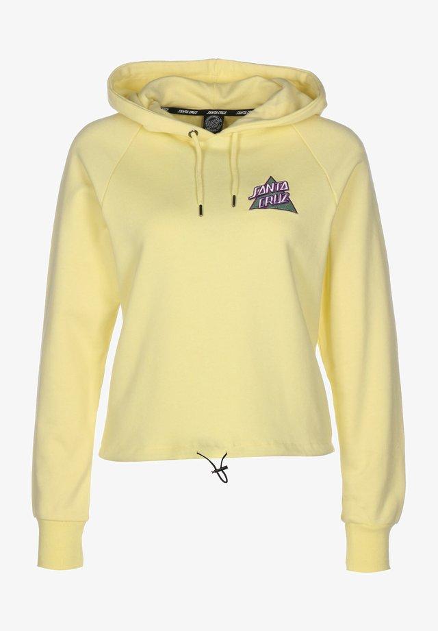 Sweatshirt - pastel yellow