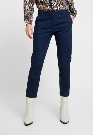 TEXTURED LIGHT - Chino - bright blue