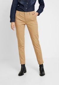 Sisley - TROUSERS - Pantaloni - beige - 0