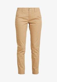 Sisley - TROUSERS - Pantaloni - beige - 4