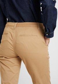 Sisley - TROUSERS - Pantaloni - beige - 5