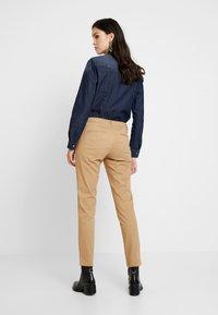 Sisley - TROUSERS - Pantaloni - beige - 2