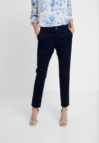 Sisley - TROUSERS - Pantaloni - dark blue - 0