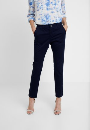 TROUSERS - Pantaloni - dark blue