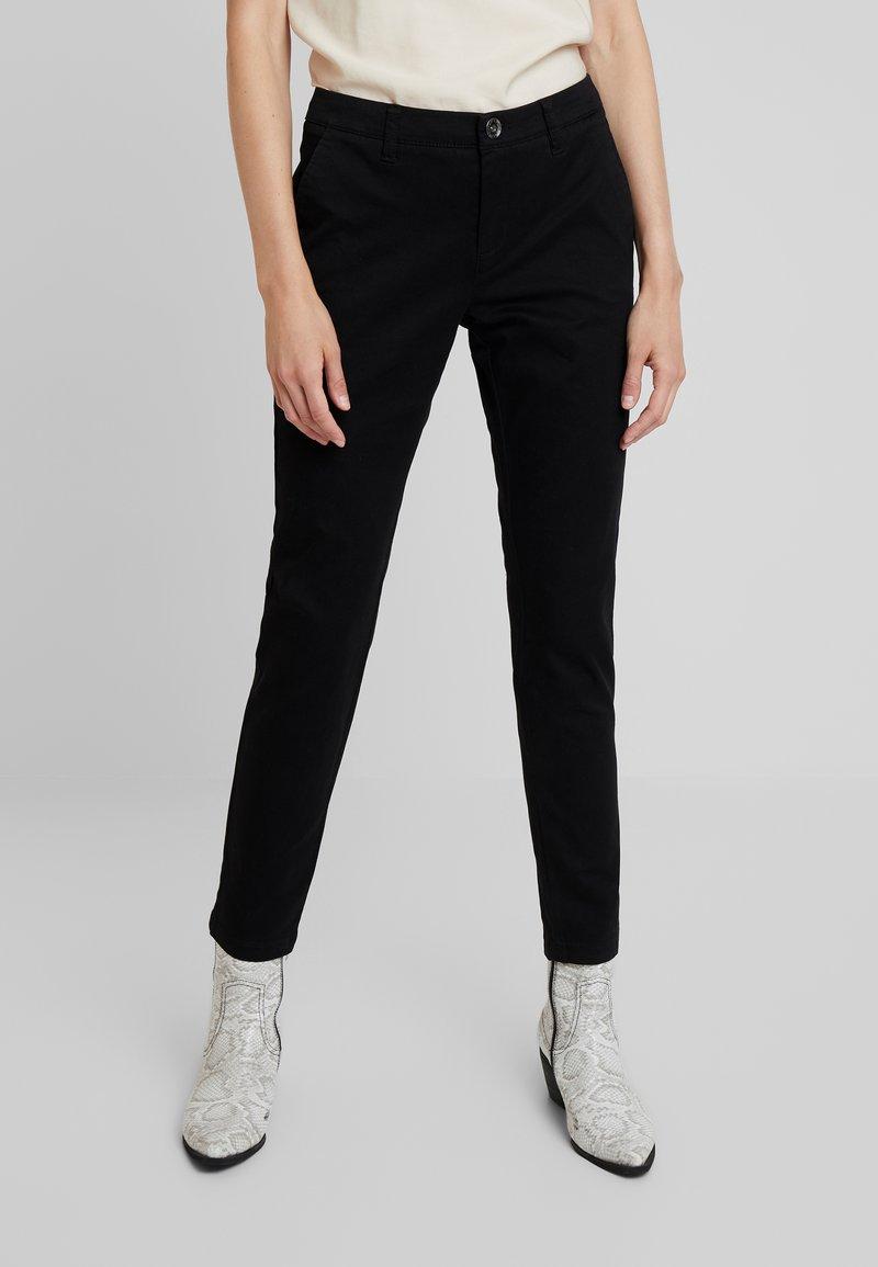 Sisley - TROUSERS - Trousers - black