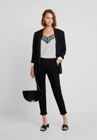 Sisley - TROUSERS - Pantalones - black - 2