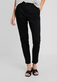 Sisley - TROUSERS - Pantalones - black - 0