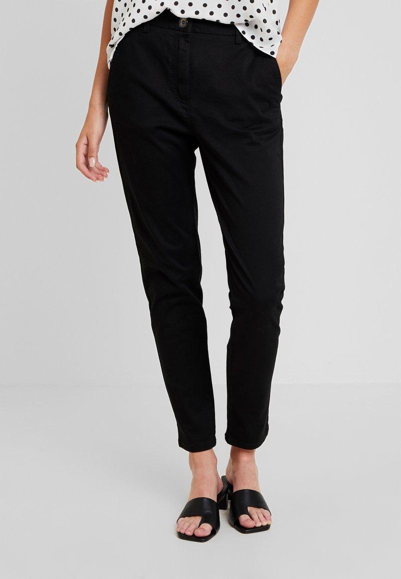 Sisley - TROUSERS - Pantalones - black