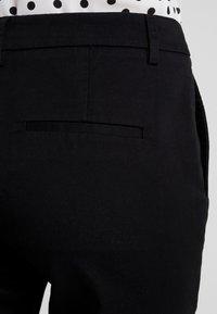 Sisley - TROUSERS - Pantalones - black - 6