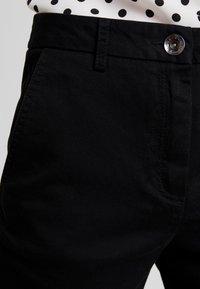 Sisley - TROUSERS - Pantalones - black - 4