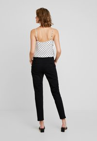 Sisley - TROUSERS - Pantalones - black - 3