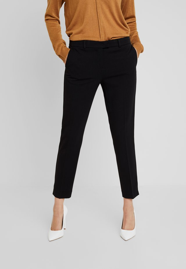 TROUSERS - Stoffhose - black
