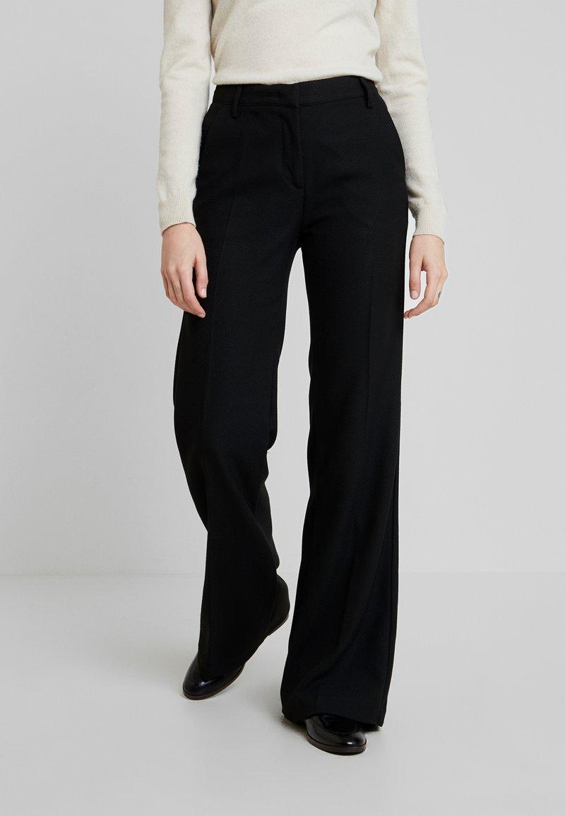 Sisley - TROUSERS - Pantaloni - black