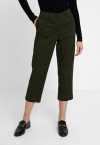 Sisley - TROUSERS - Trousers - olive - 0