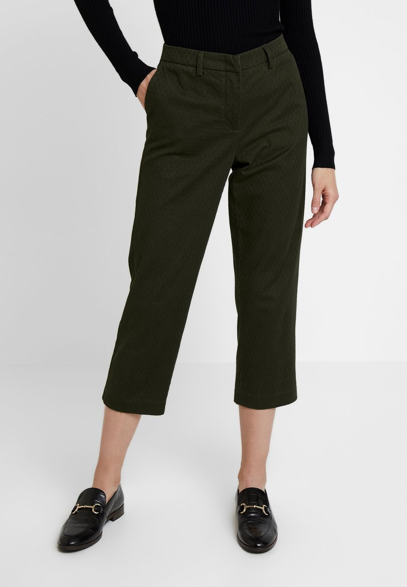 Sisley - TROUSERS - Trousers - olive
