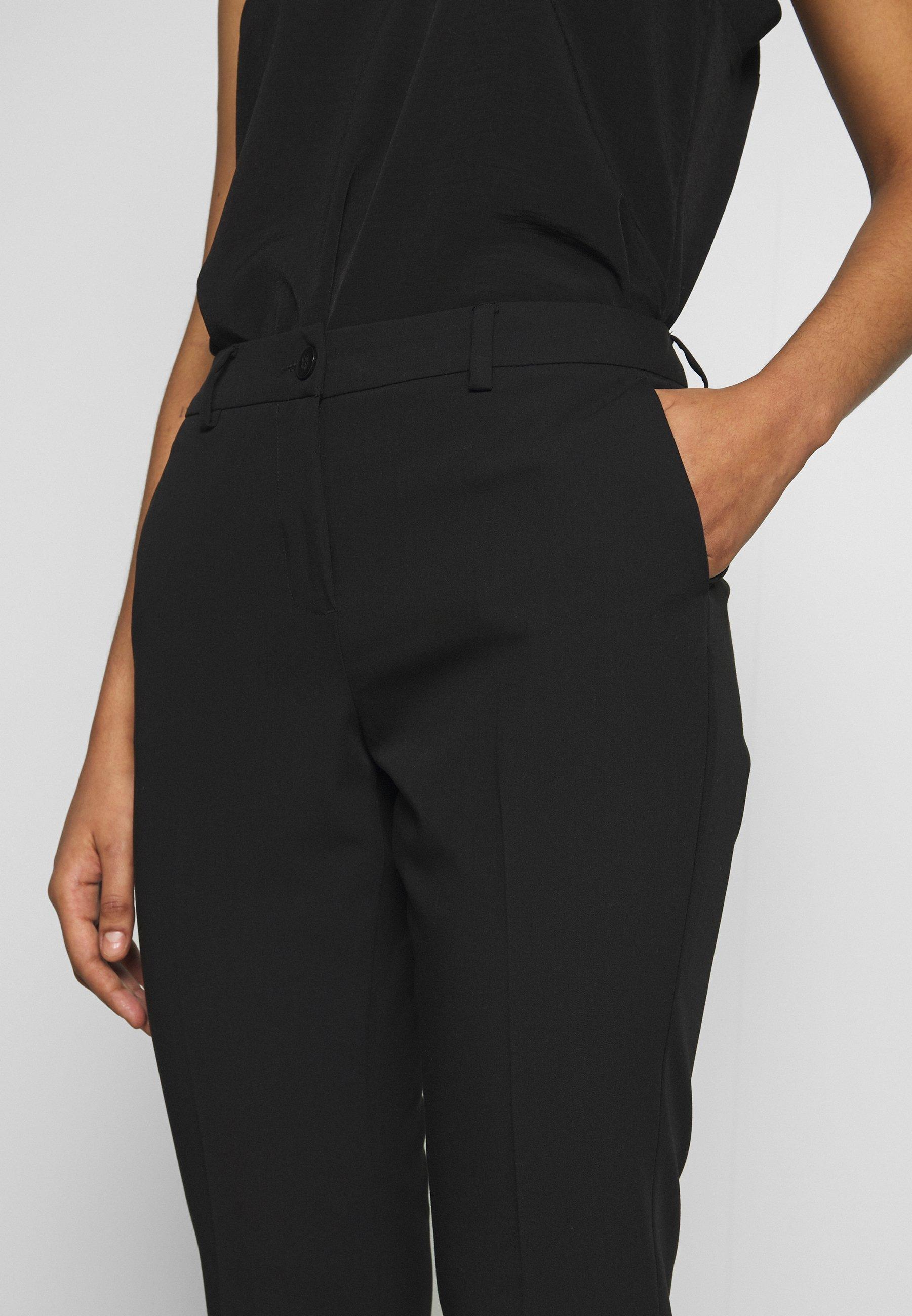 Sisley Trousers - Pantalon Classique Black