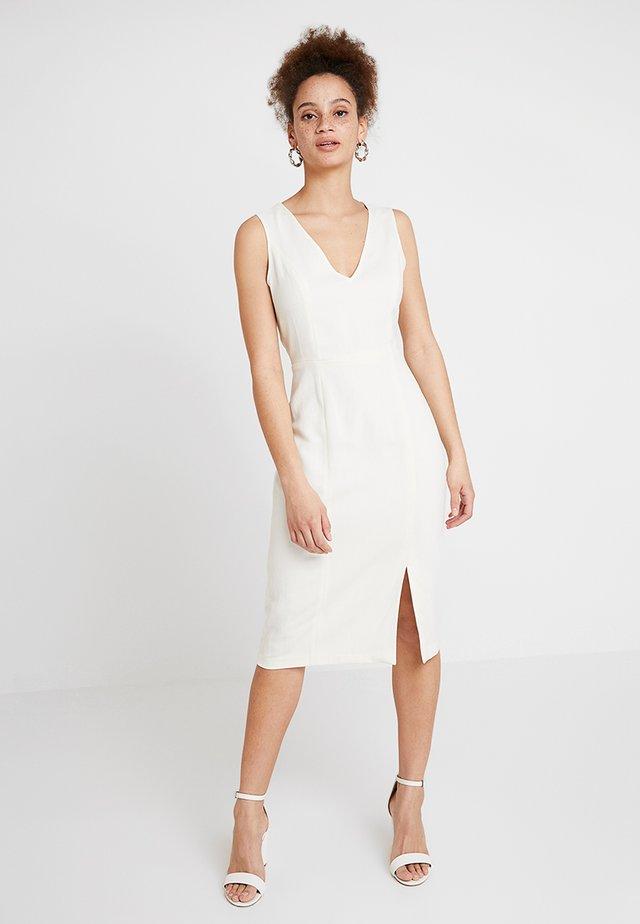 MIX SHIFT DRESS - Etui-jurk - ivory