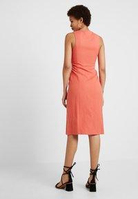 Sisley - MIX SHIFT DRESS - Tubino - red - 2