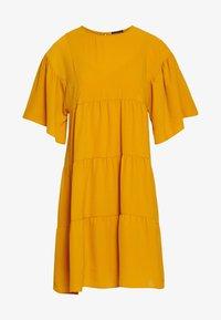 Sisley - Kjole - yellow - 3