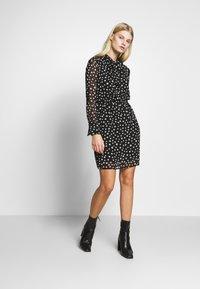 Sisley - DRESS - Vestito estivo - black - 1