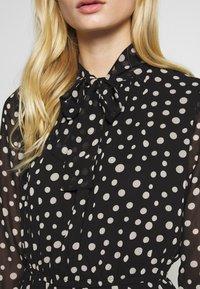 Sisley - DRESS - Vestito estivo - black - 4