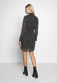 Sisley - DRESS - Vestito estivo - black - 2