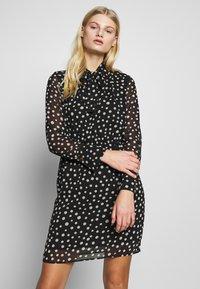 Sisley - DRESS - Vestito estivo - black - 0