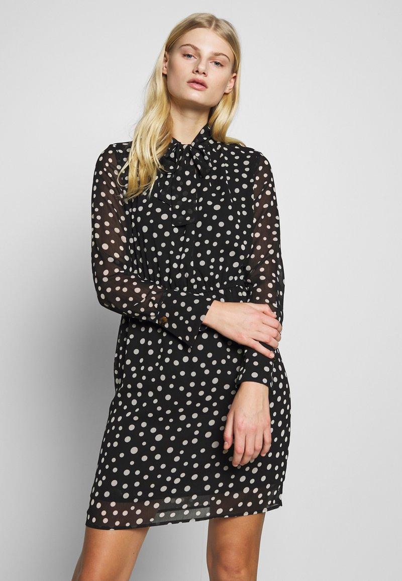 Sisley - DRESS - Vestito estivo - black