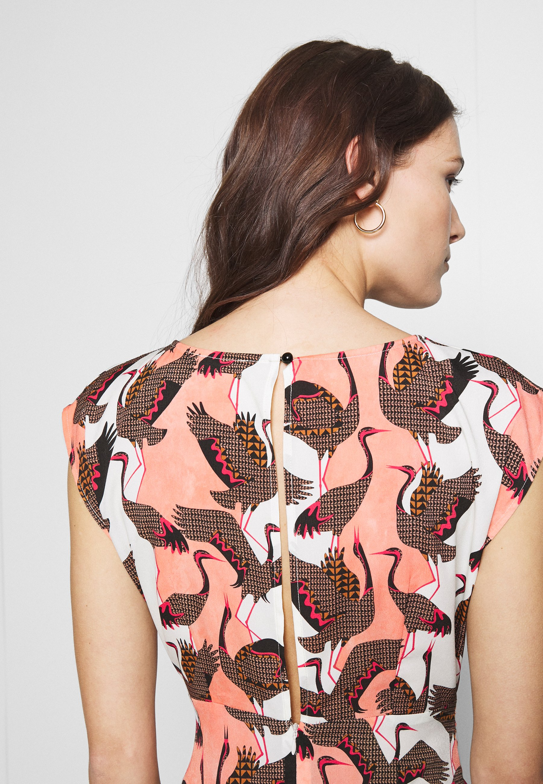 Sisley DRESS - Sukienka letnia - multi-coloured