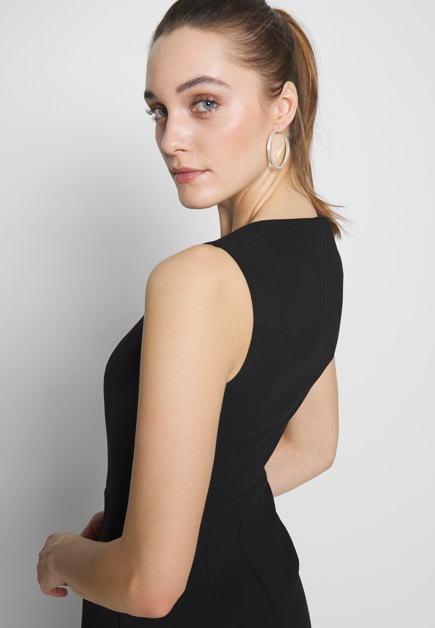 Sisley DRESS - Sukienka etui - black