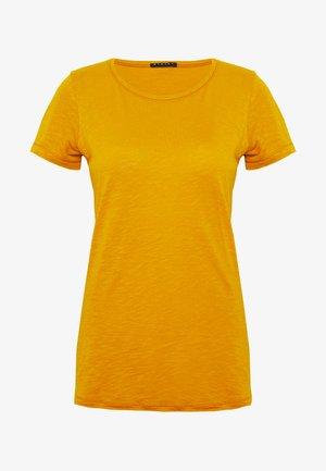 ROUND NECK - T-paita - yellow