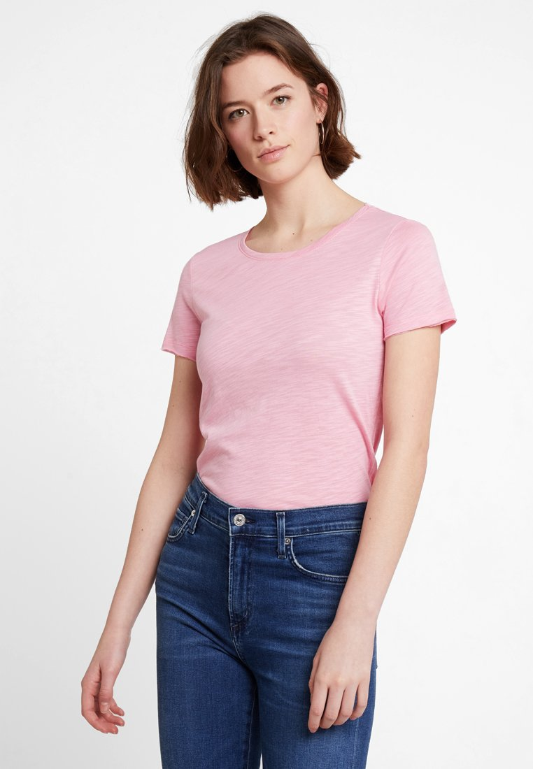 Sisley - ROUND NECK - T-Shirt basic - pink