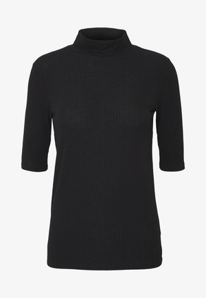 TURTLE NECK - Printtipaita - black
