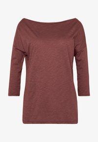 Sisley - Maglietta a manica lunga - bordeaux - 3