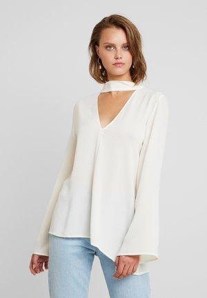 BLOUSE - Blouse - white