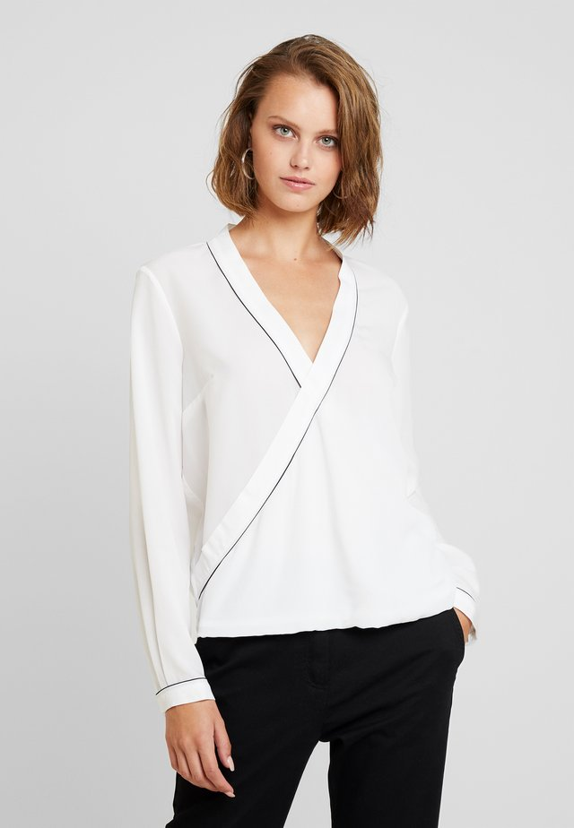 BLOUSE - Bluse - white