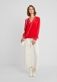 Sisley - BLOUSE - Camicetta - red - 1